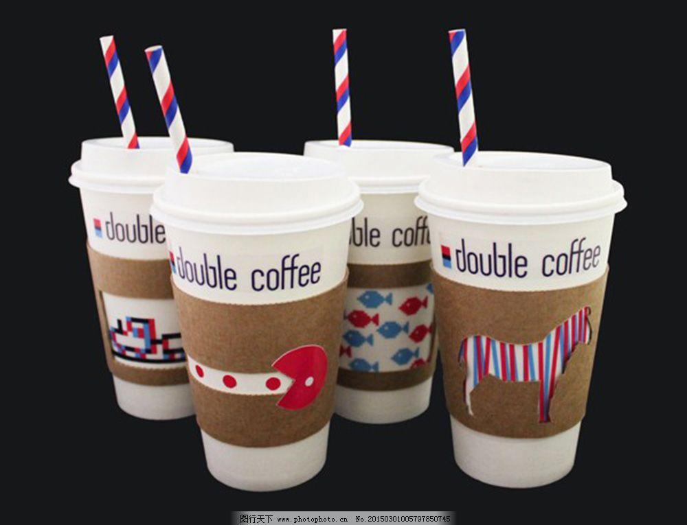 咖啡杯包装设计素材jpg下载
