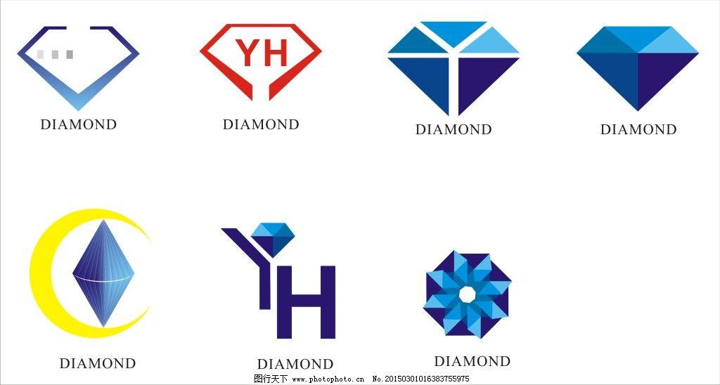 钻石logo设计cdr矢量图下载