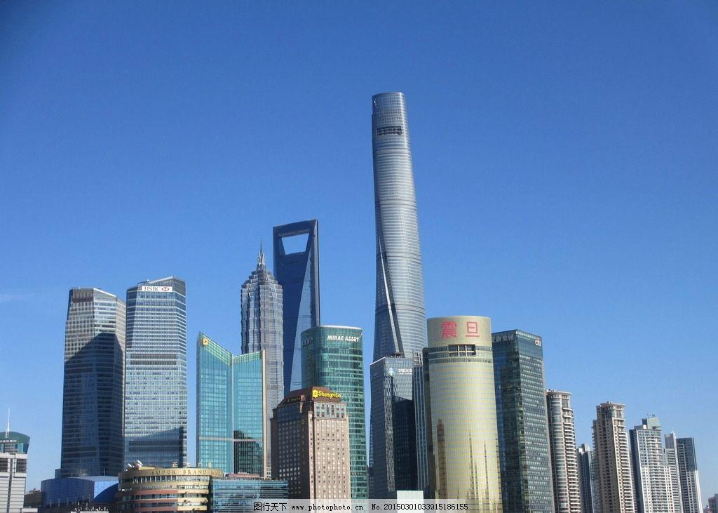 中国上海东方明珠塔,高度为468米图片