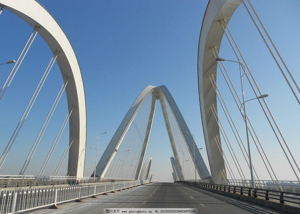 大桥 冬季 桥 桥梁工程