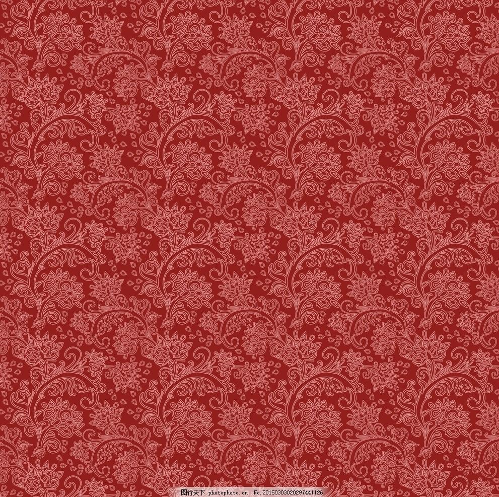 背景 精美欧式花纹 大马士革图案 墙纸 壁纸 欧式花纹 欧式怀旧复古