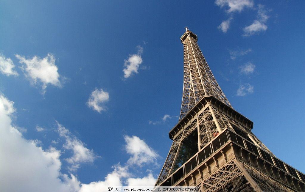 埃菲尔铁塔唯美图片近照