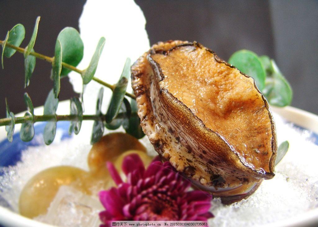 冰镇鲍鱼 鲍鱼 大连鲍 鲜鲍 鲍鱼刺身 大连鲍鱼 摄影 餐饮美食 西餐