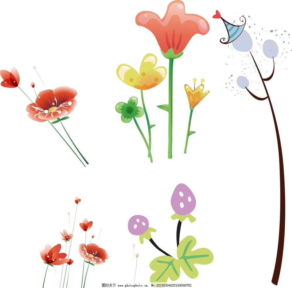 手绘花朵图片_花草_生物世界