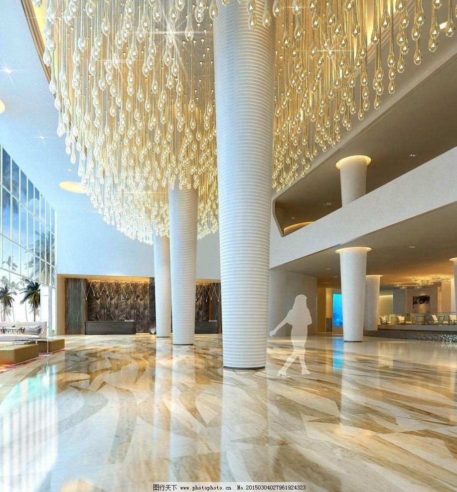 酒店大堂设计图片