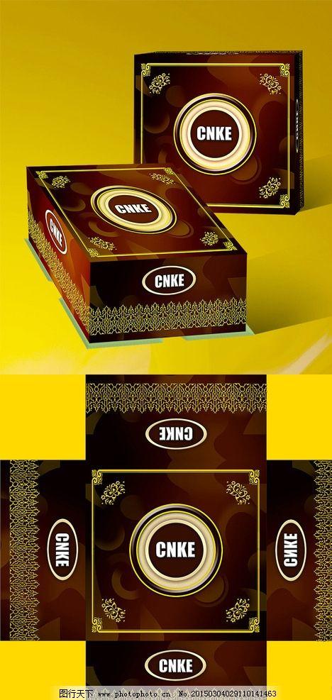 蛋糕包装盒 蛋糕包装 欧式蛋糕盒 古典包装盒 巧克力蛋糕 设计 广告