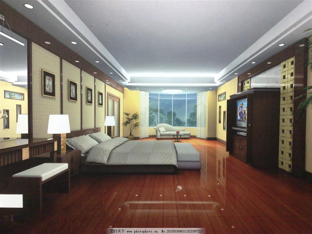 素材 室内设计/家装卧室模型