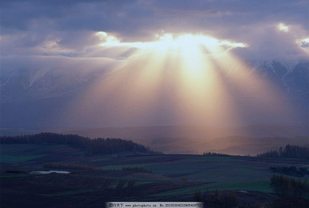 唯美 风景 风光 旅行 自然 秦皇岛 公园 奥林匹克公园 耶稣光 夕阳