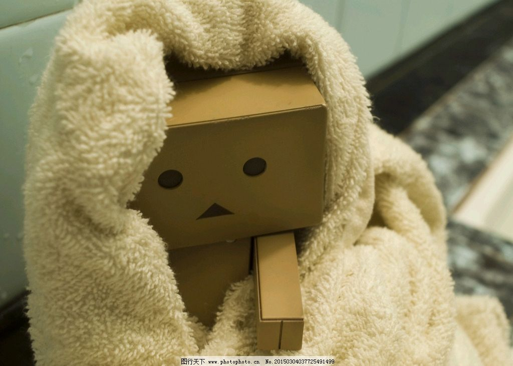 唯美 纸盒人 可爱 阿愣 素材 箱子人 小人 纸箱人 玩具人 张小盒 阿