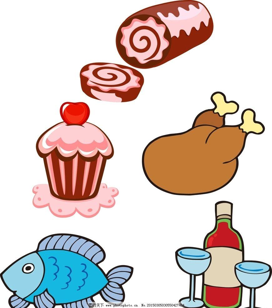可爱卡通甜品图片