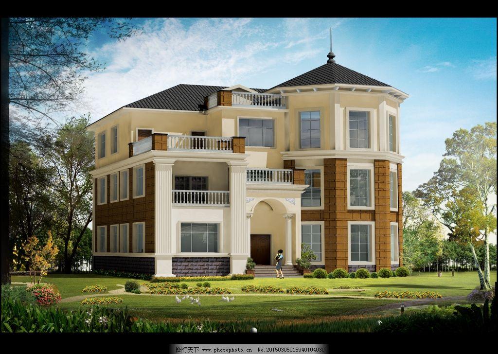 三层农村别墅建造