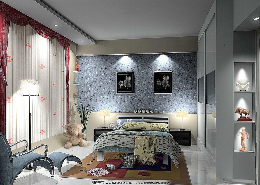 装修设计 卧室图 装修效果图 卧室布局 装修卧室 设计 环境设计 家居