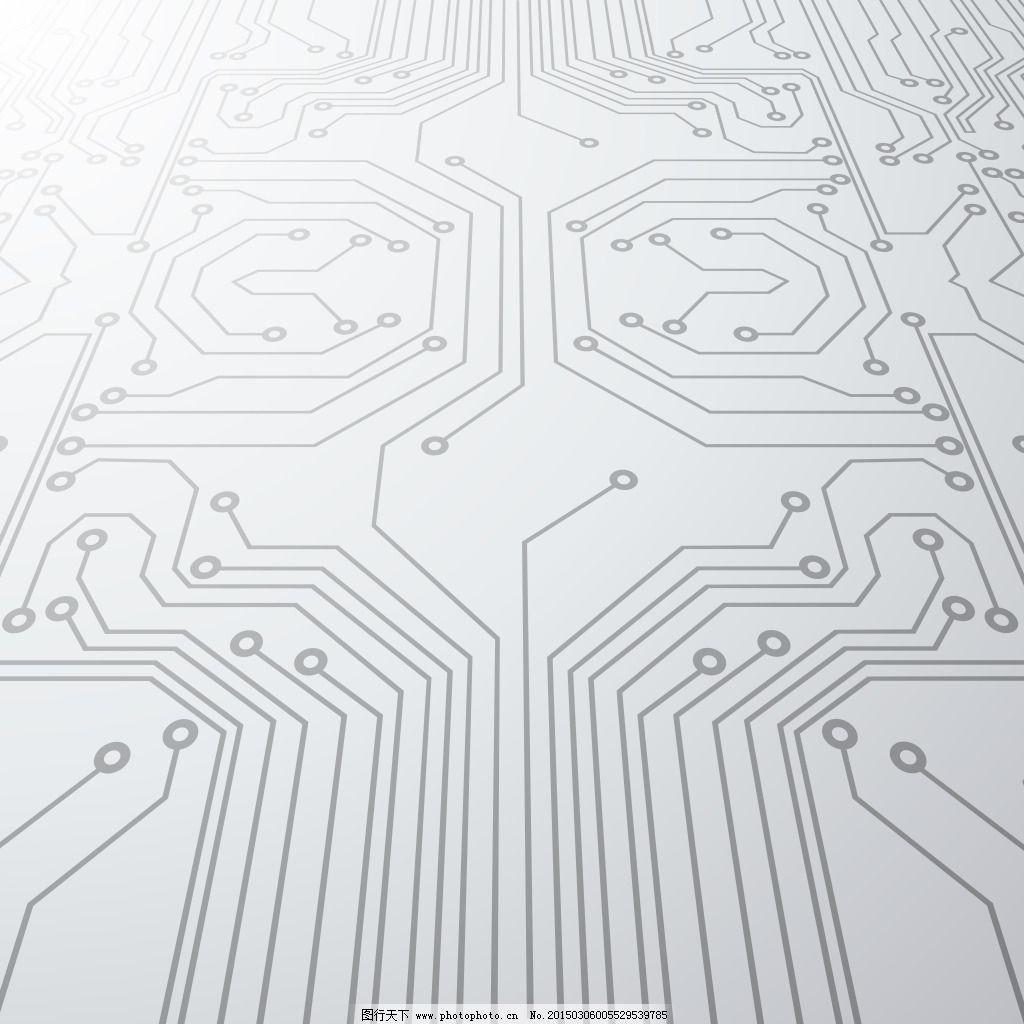 科技感电路板素材免费下载