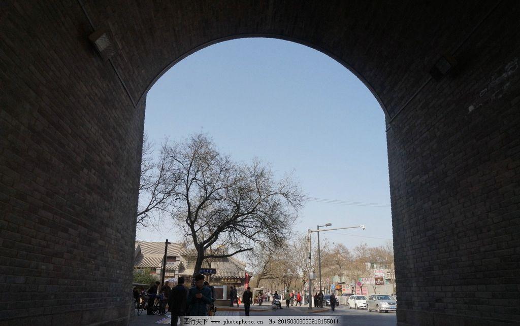 门洞 西安古城墙/西安古城墙门洞图片