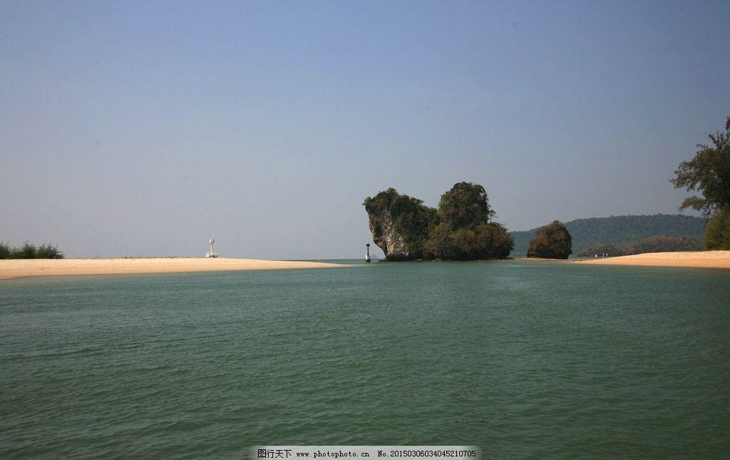 泰国 普吉岛 大海 游船 沙滩 摄影 旅游摄影 国外旅游 72dpi jpg