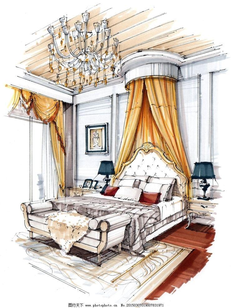 设计手绘 室内设计        室内手绘培训 环艺设计 快题培训 室内家居