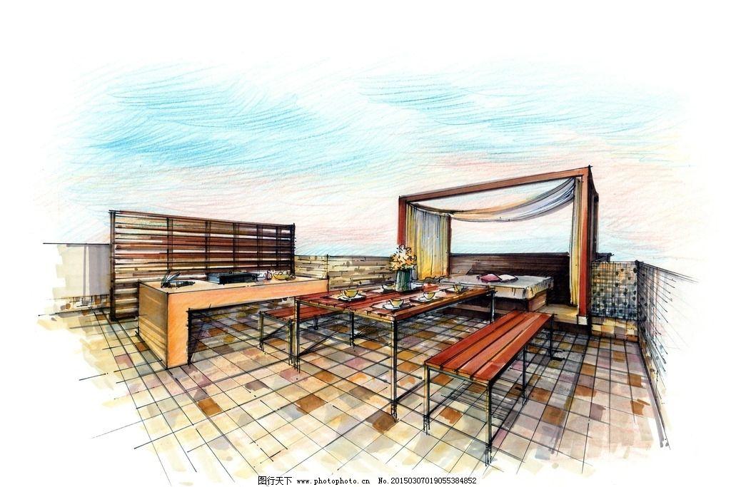 环艺设计 快题培训 室内家居
