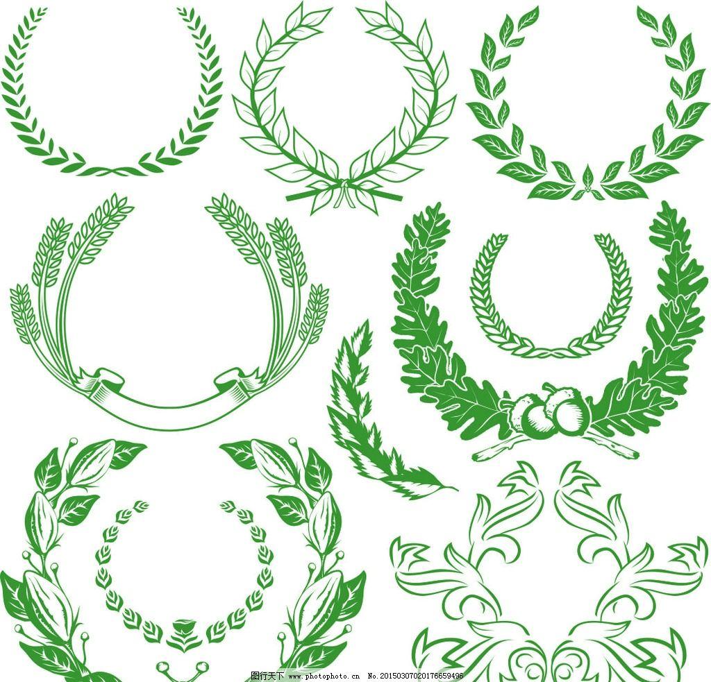 稻穗标志图片