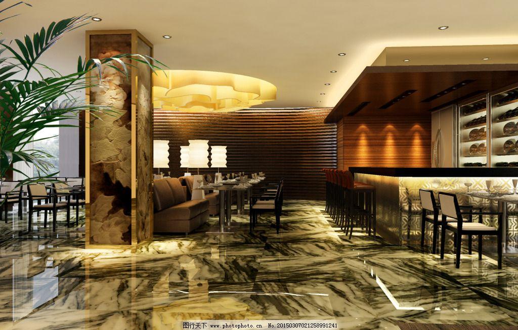 艺术酒吧 艺术酒吧免费下载 吧台 模型 室内装饰模型