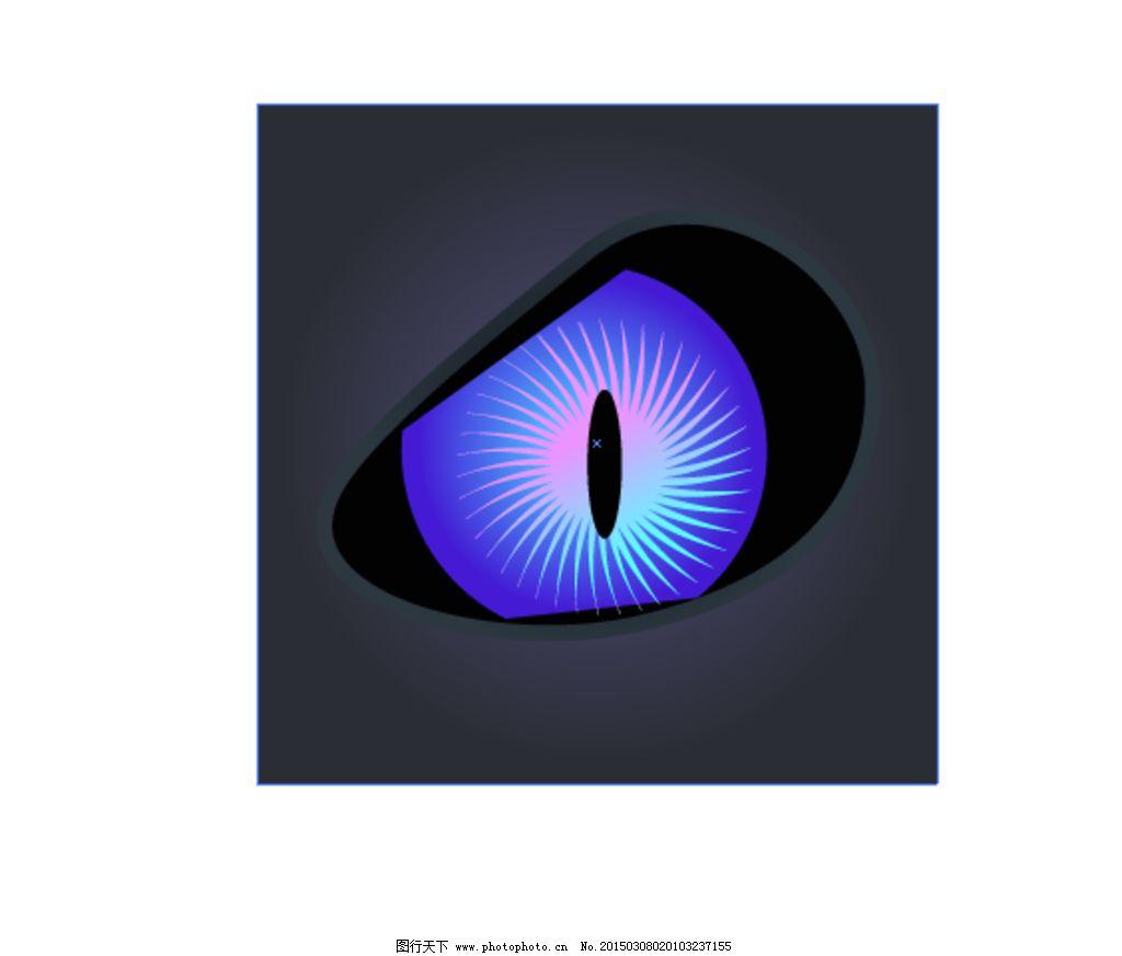 神秘眼睛图标图片