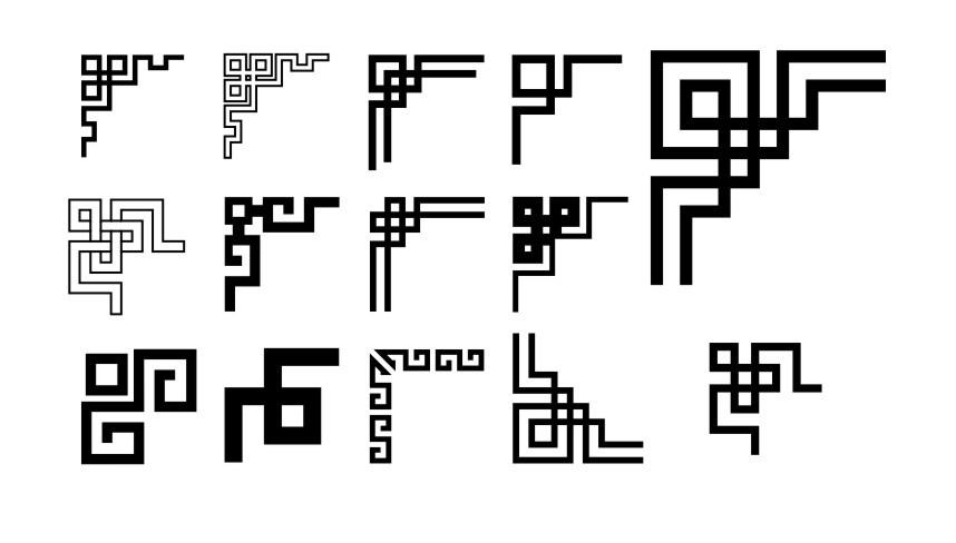 中式传统花纹边框免费下载