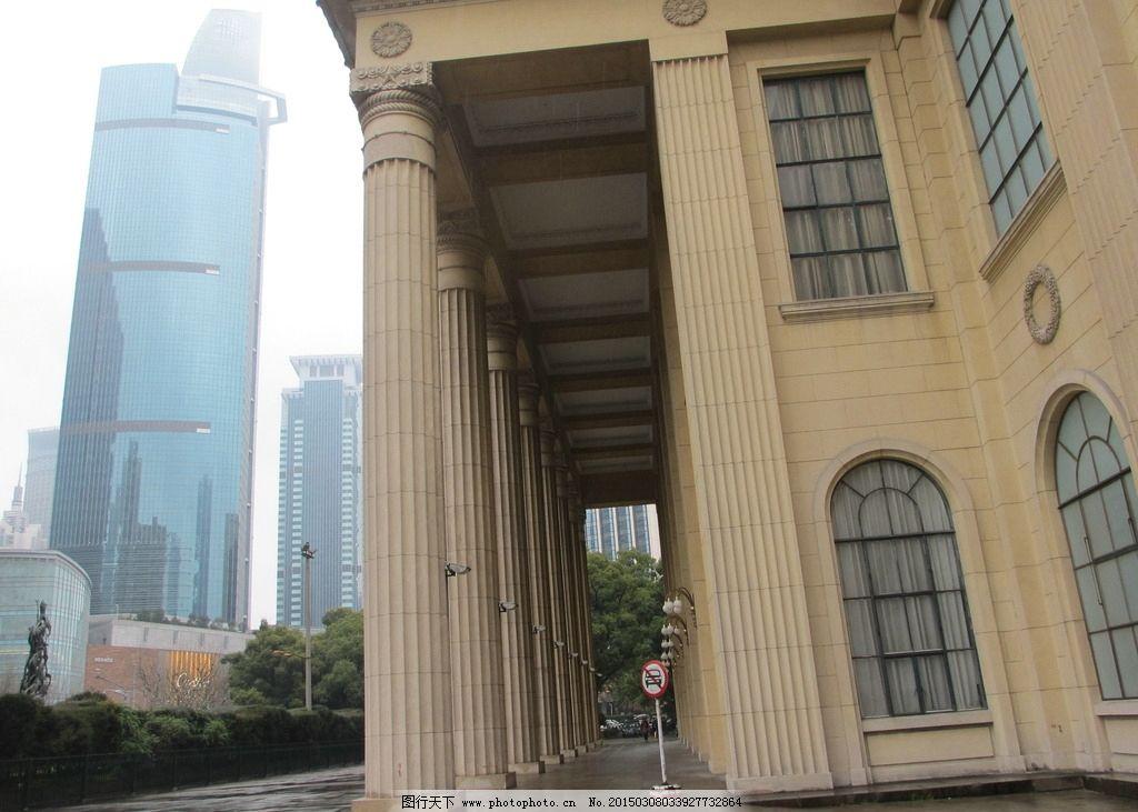 上海展览中心 欧式建筑