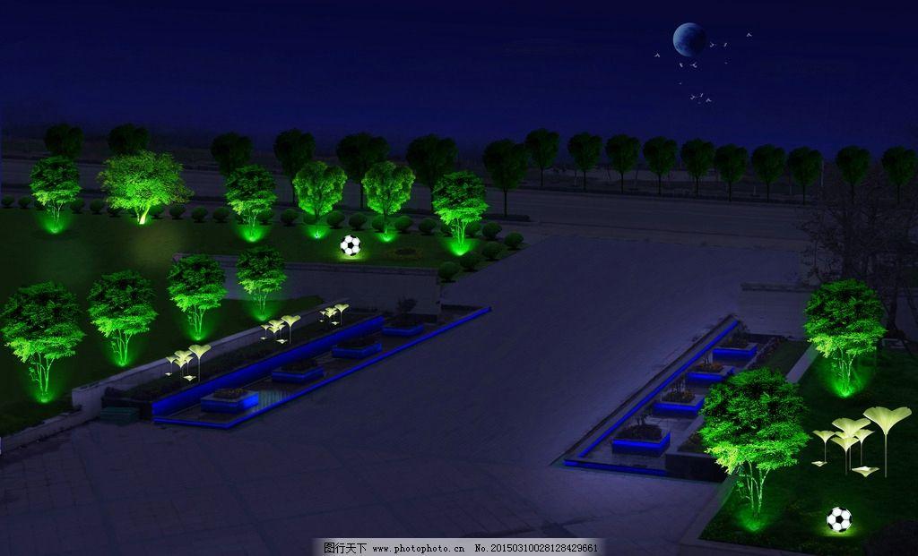 夜景亮化 景观照明图片