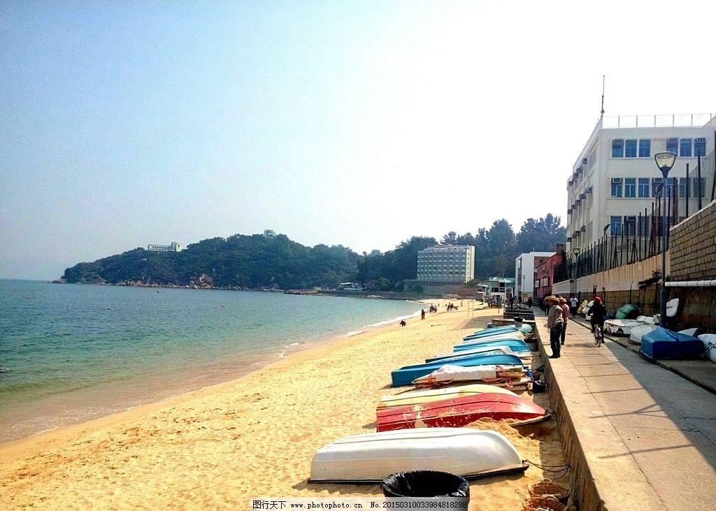 长洲岛沙滩图片