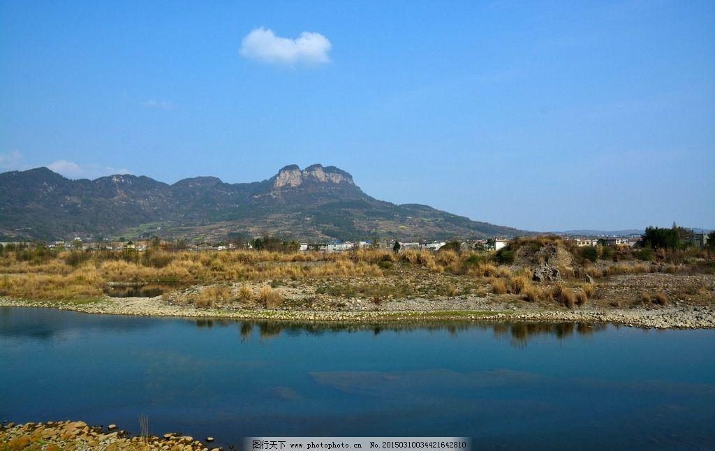 家乡 山水 风景 武都镇 涪江 自然风景 摄影 自然景观 山水风景 300