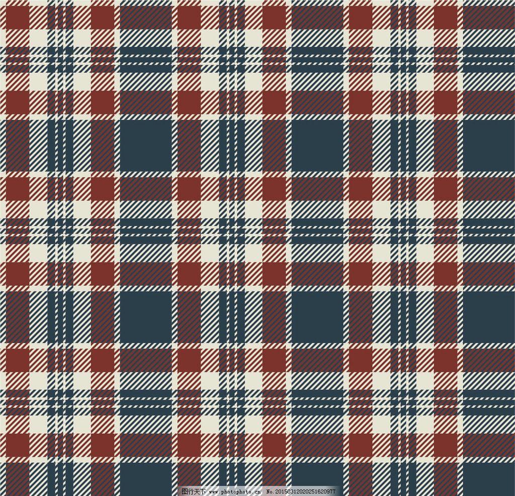 布纹 布纹图案 布料 纹理 织物 格子布纹 矢量图片