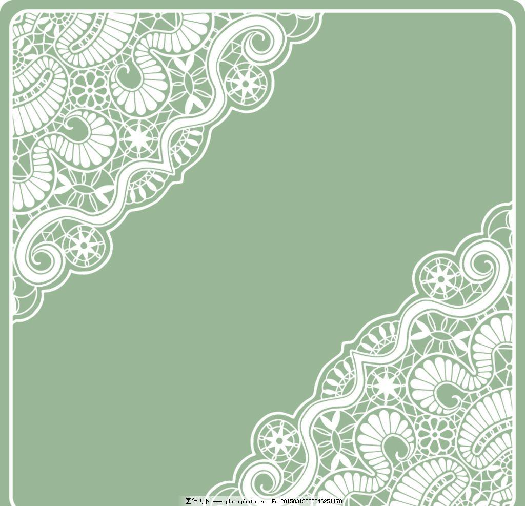 透明蕾丝花纹图片,花边 边框 欧式花纹 花纹背景 时尚