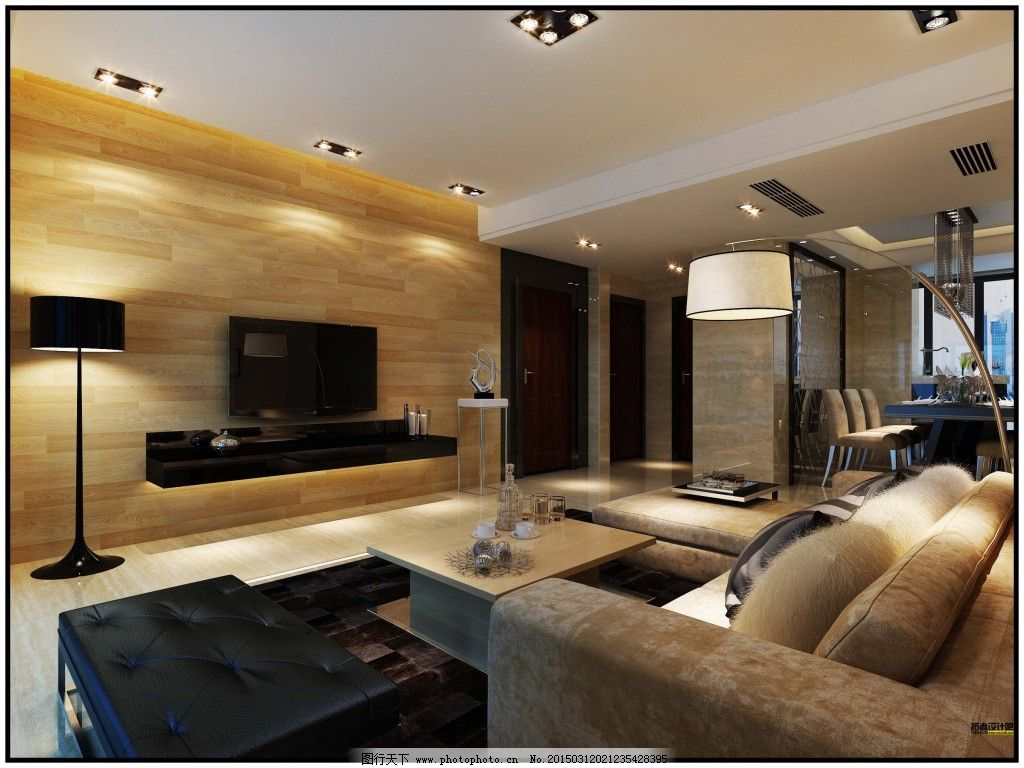 家居客厅装修,家居客厅装修免费下载 模型 现代 室内