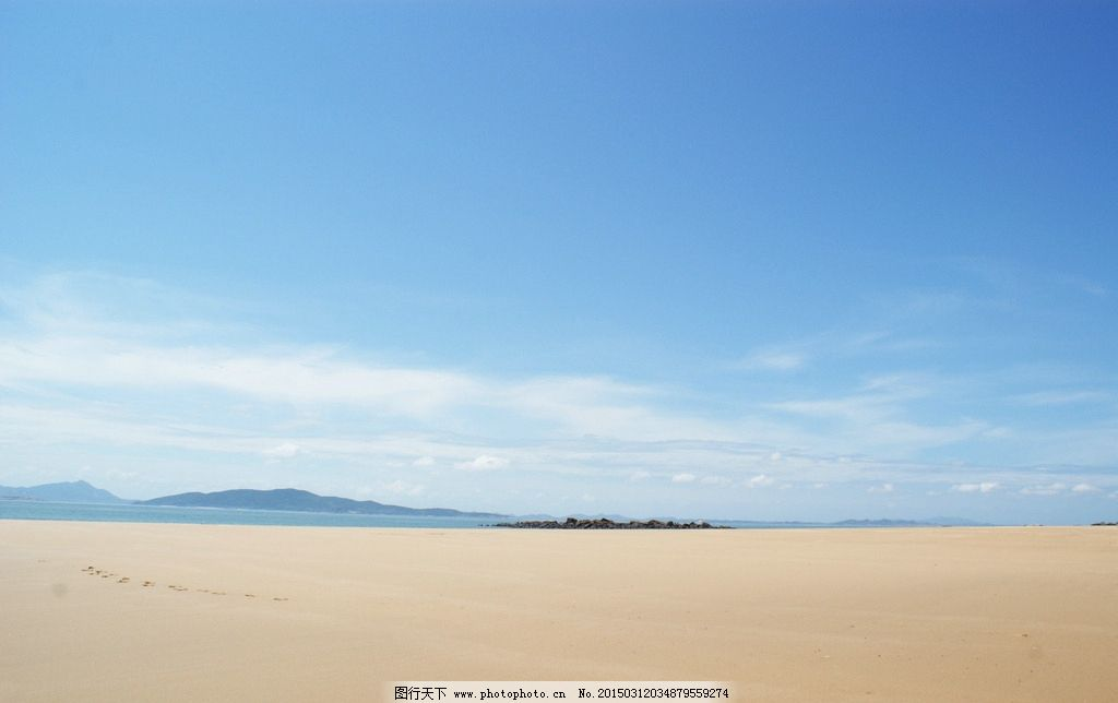 东甲岛 沙滩 自然风景 天空 海岛 摄影图片 摄影 自然景观 自然风景