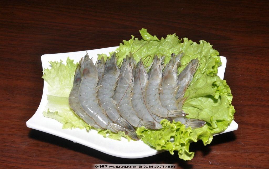 海鲜 大虾 基围虾 活大虾 新鲜海鲜 新鲜大虾 火锅涮品 火锅 虾 摄影图片
