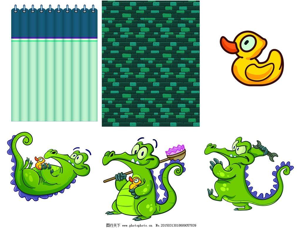 超清壁纸 卡通鳄鱼