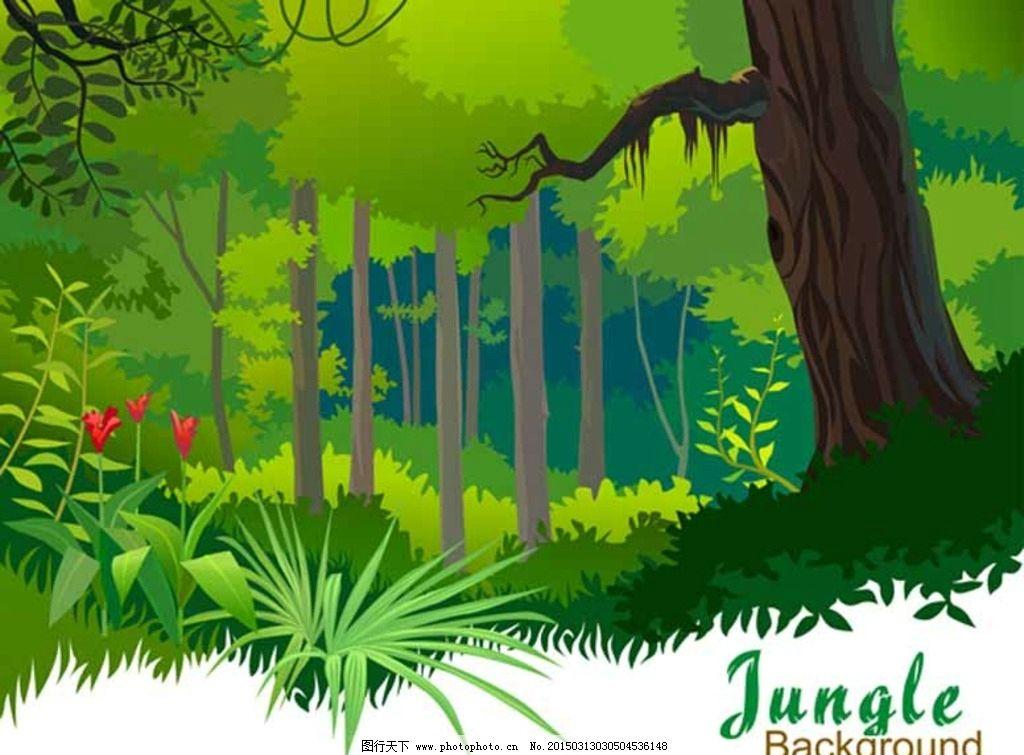 卡通风景画 风景画 风景装饰画 装饰画 山水风景画 动漫风景画 风景
