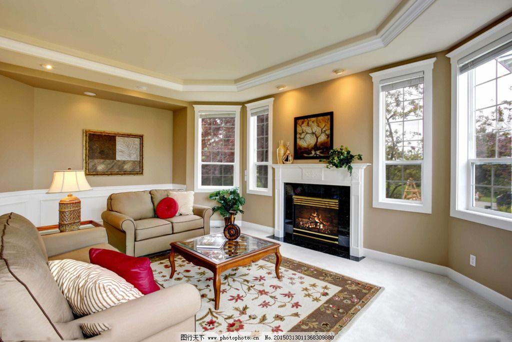 欧式温馨客厅免费下载 3d素材 客厅装修 沙发设计 室内装饰 客厅装修