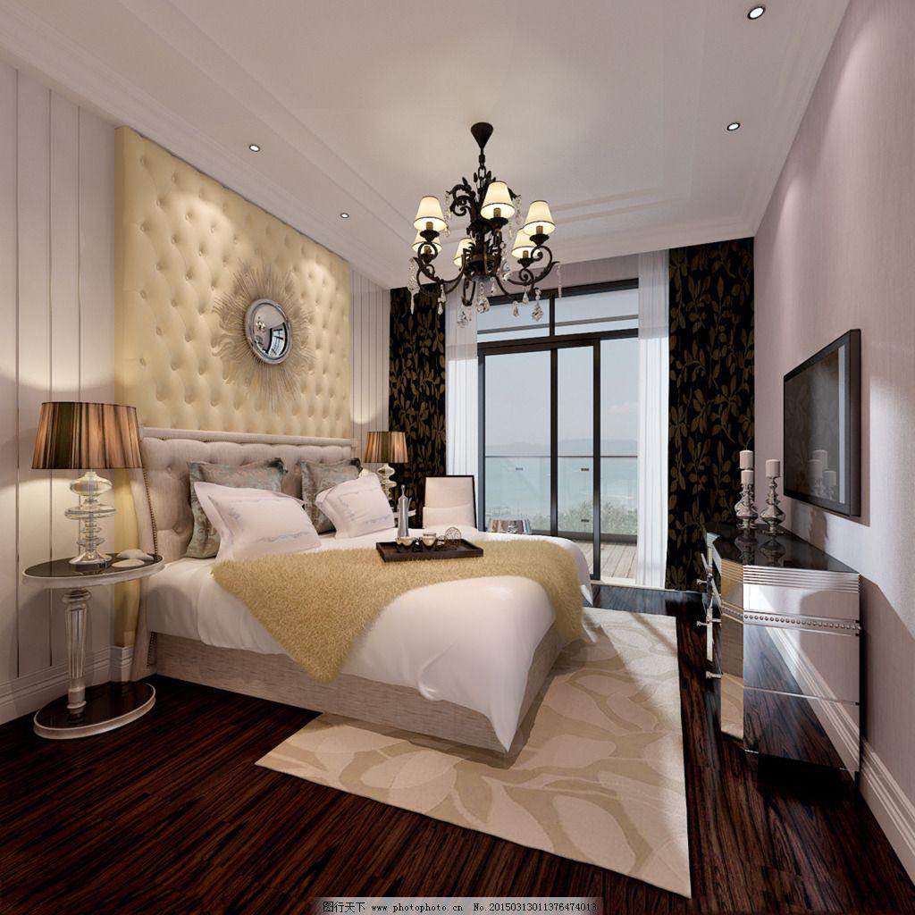 卧室/时尚卧室模型
