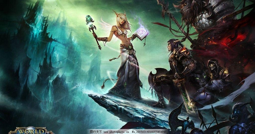 魔兽世界wow血精灵高清壁纸图片