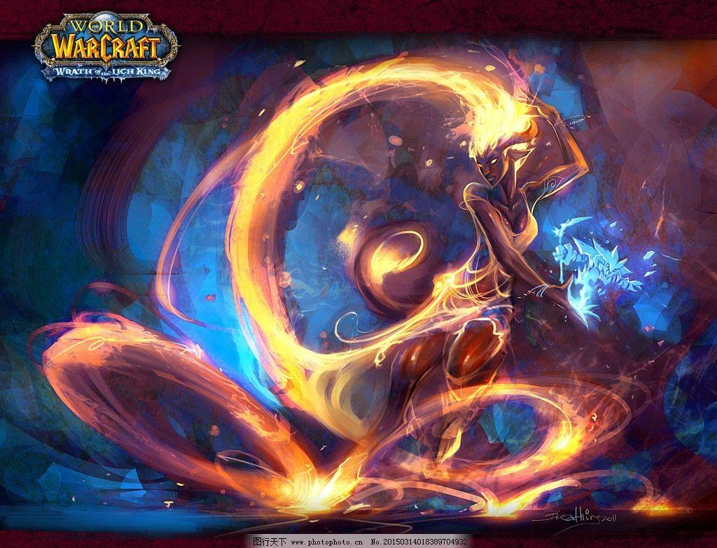 魔兽世界 wow 血精灵 壁纸 死骑 骑士 法师 牧师 猎人 盗贼 萨满 术士