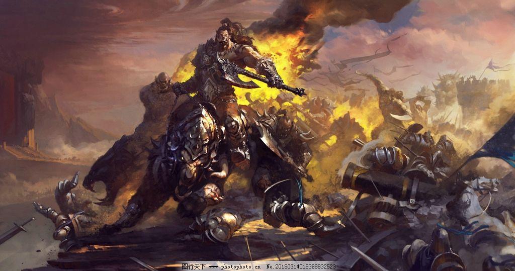 魔兽 wow 魔兽世界 战争 壁纸 兽人 亡灵 设计 动漫动画 动漫人物 72