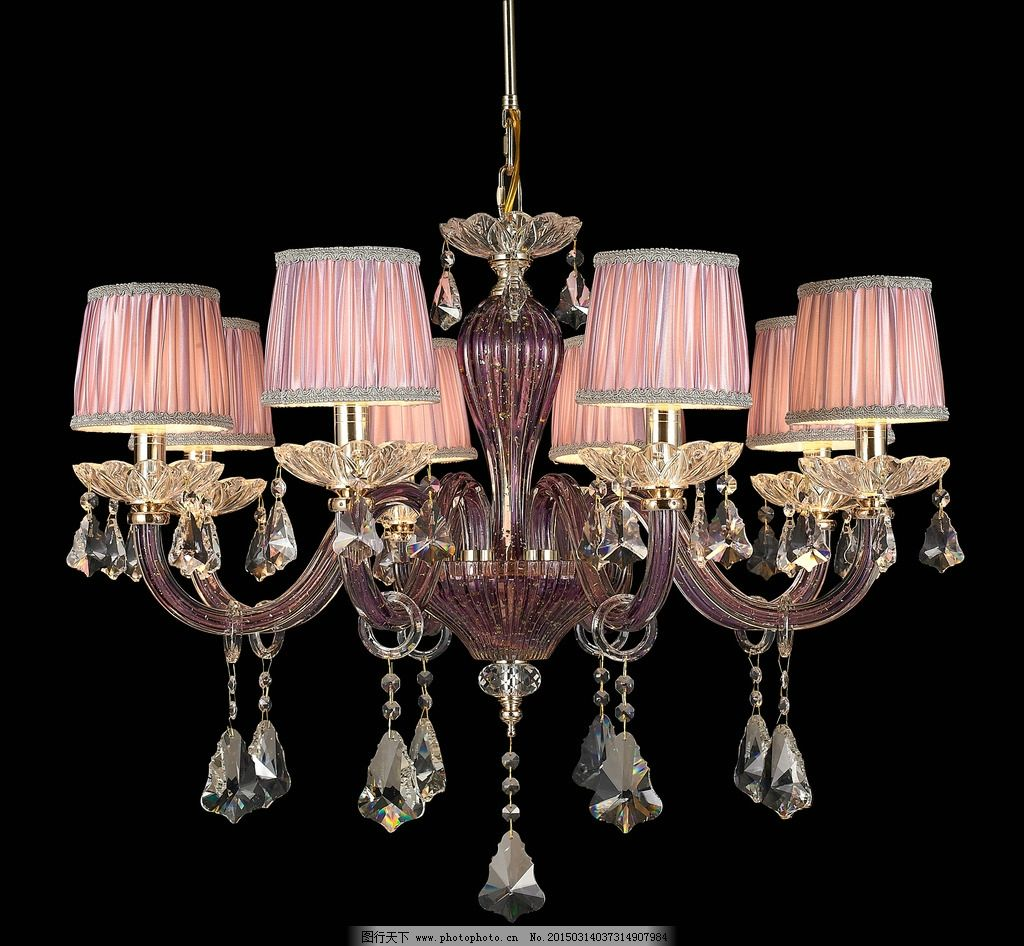 欧式水晶灯吊灯图片