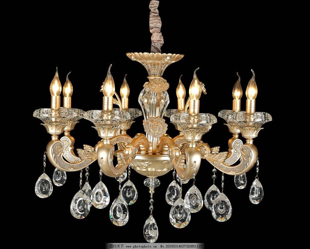 水晶灯 欧式灯 吊灯 客厅灯 玻璃管灯 灯具 灯饰 玻璃管吊灯 摄影