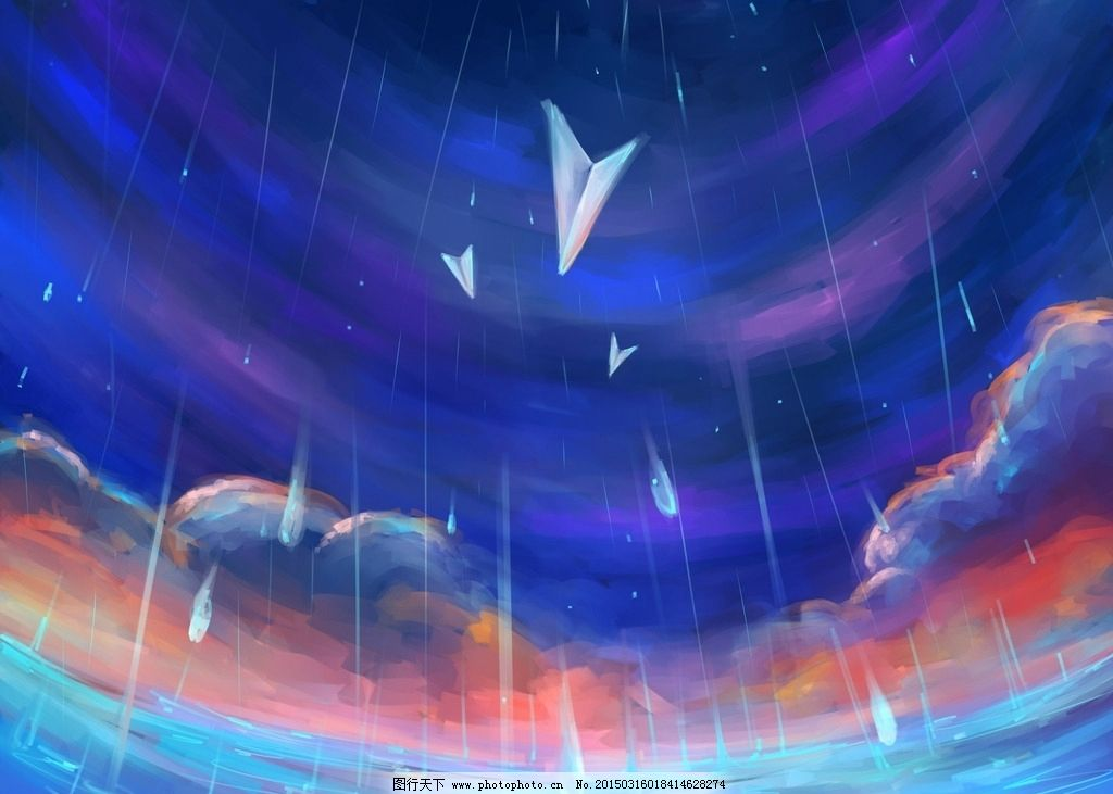 羽化 海水 云朵 云层 原材 飞机 天空 纸飞机 桌面 背景 壁纸 唯美