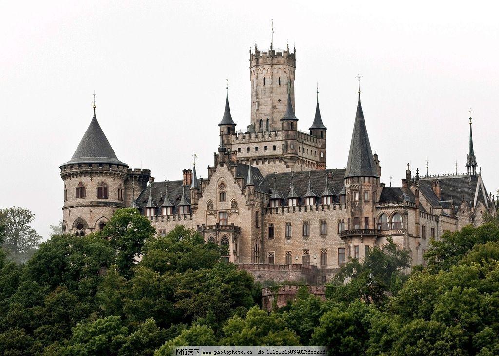 欧式唯美城堡图片