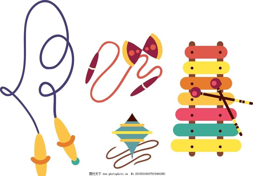 卡通跳绳 风筝图片