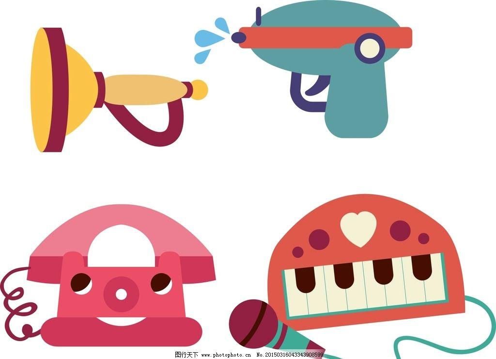 卡通素材 可爱 素材 手绘素材 儿童素材 卡通装饰素材 矢量图 卡通