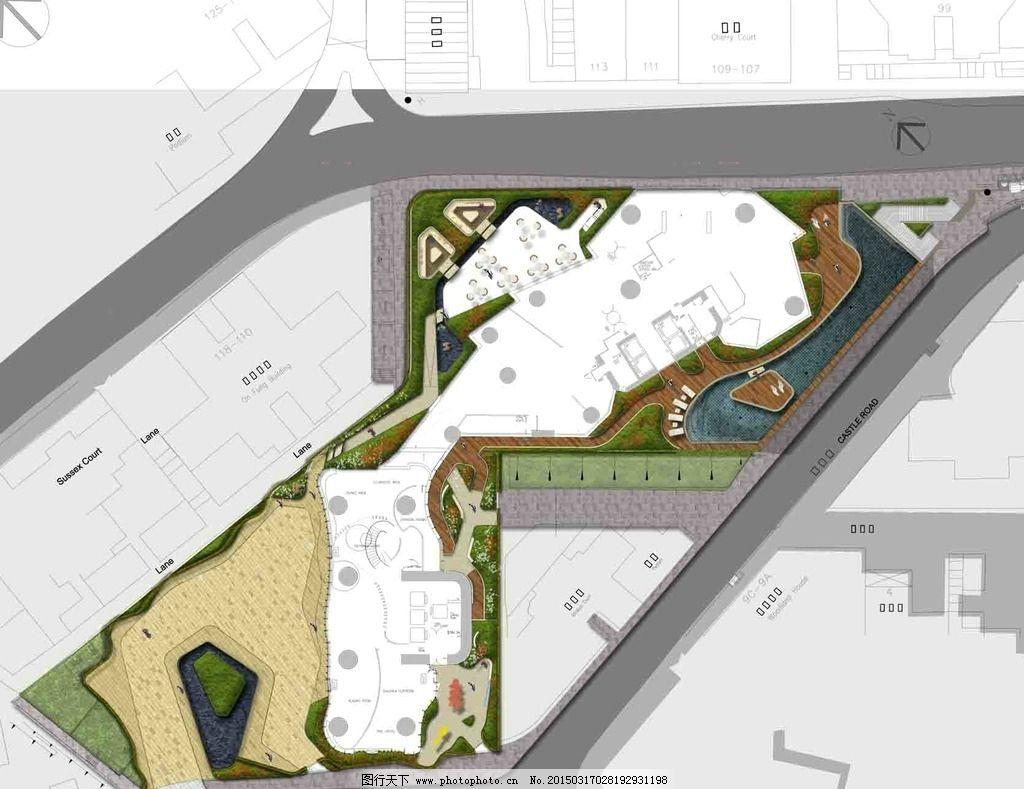 景观 平面 ps 素材 国外 设计 环境设计 景观设计 300dpi psd