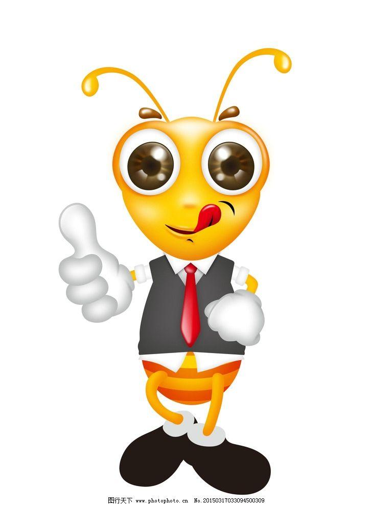 蚂蚁 卡通 绿色 活泼 手机图片