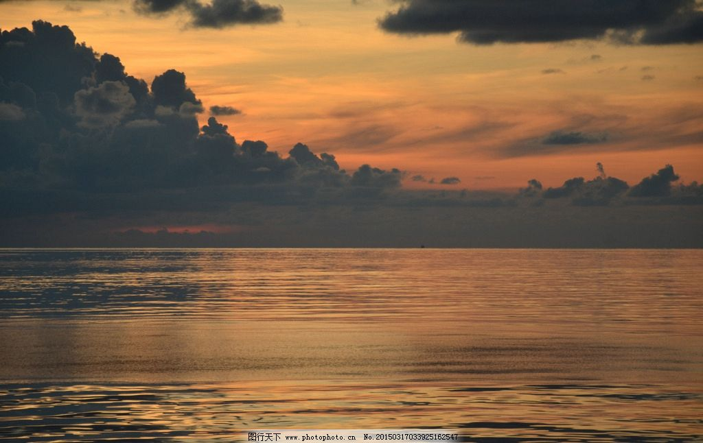 唯美 风景 风光 旅行 自然 秦皇岛 大海 海 夕阳 落日 日落 黄昏 傍晚